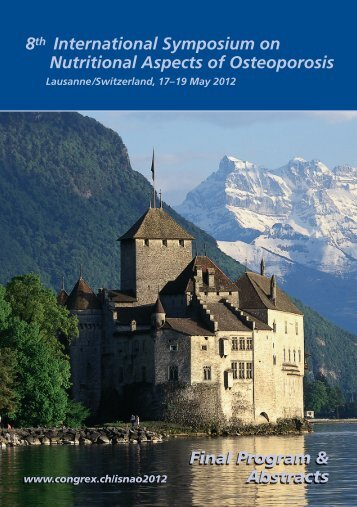 8th International Symposium on Nutritional Aspects of Osteoporosis ...