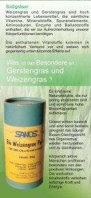 Gerstengras Weizengras - Weizengras, Gerstengras, Alfalfa - Seite 2