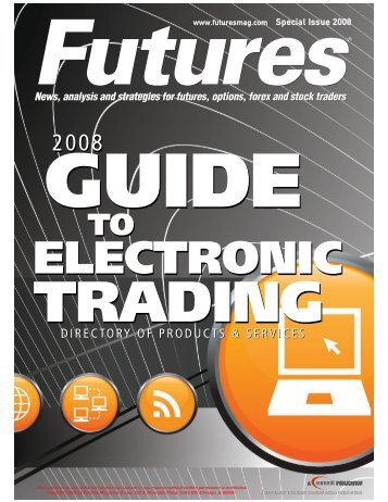 guide to electronic trading - Futures Magazine