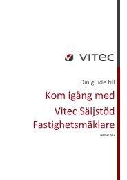 Kom igång med Vitec Säljstöd Fastighetsmäklare - Vitec Hjälpen ...