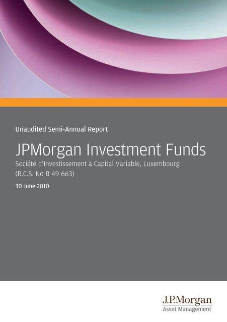 Jpmorgan Investment Funds