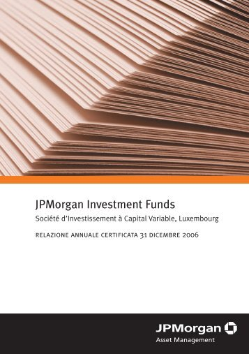 JPMorgan Investment Funds - Skandia