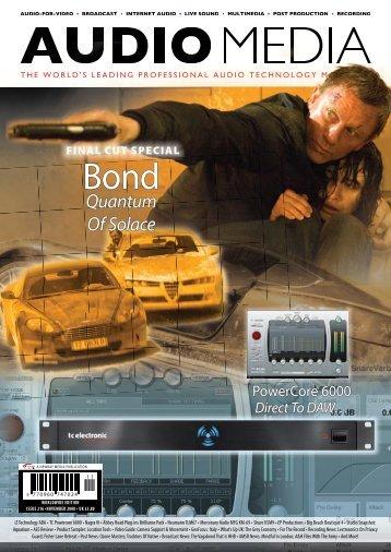 Quantum Of Solace - Audio Media