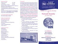 National Level One Day Workshop on Network Security