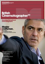 British Cinematographer issue 41 - Imago
