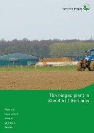 Steinfurt - EnviTec Biogas
