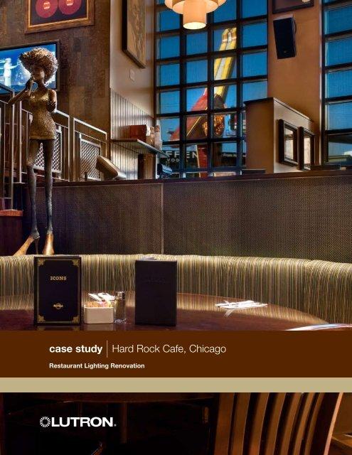 Case Study Hard Rock Cafe Chicago Vitec Distribution Gmbh
