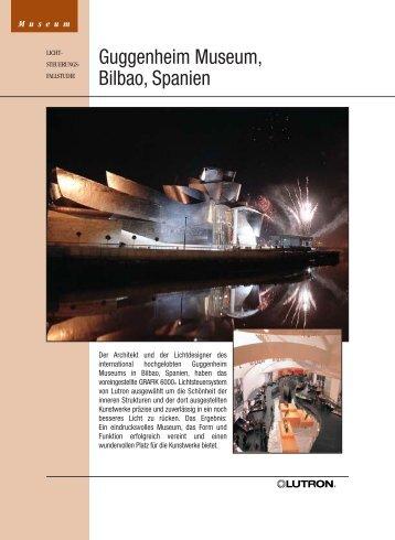 Guggenheim Museum, Bilbao, Spanien - VITEC Distribution GmbH