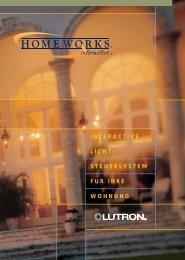 HomeWorks interactive Broschüre - VITEC Distribution GmbH
