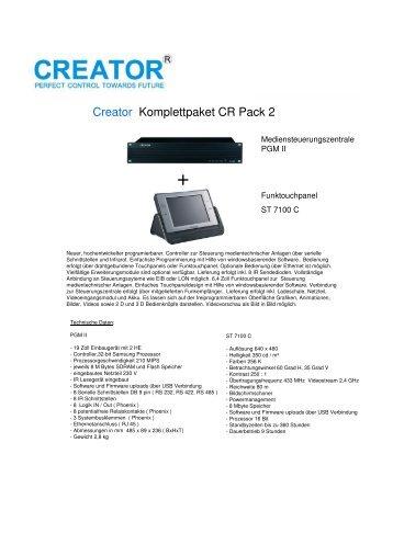 Creator CR Pack 2