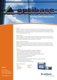 Driving Video Innovations