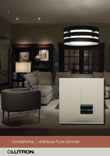 HomeWorks® |drahtlose Funk-Dimmer - VITEC Distribution GmbH