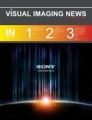 CMOS - Visual Imaging News