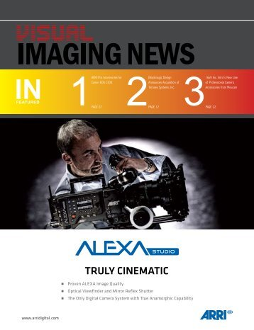 View December 2011 Issue - Visual Imaging News