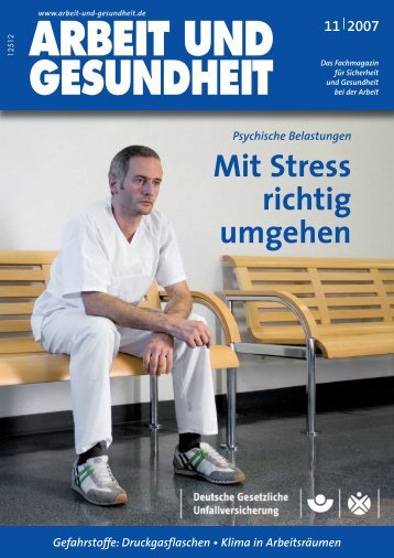November 2007 - Arbeit und Gesundheit