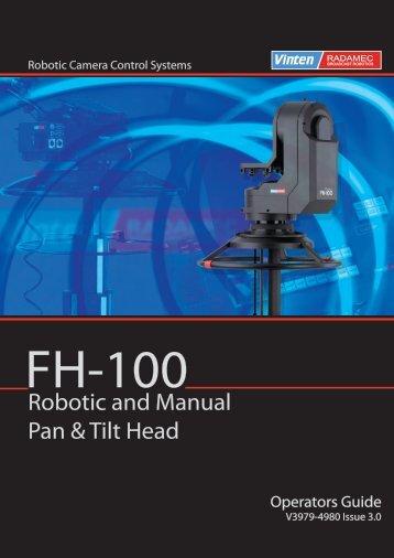 Robotic and Manual Pan & Tilt Head - Vinten Radamec