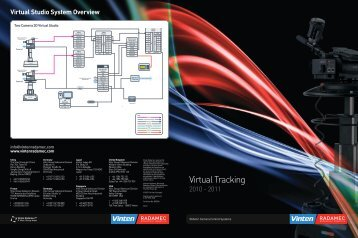 Virtual Tracking Brochure - Vinten Radamec