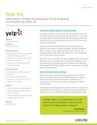 Yelp, Inc. - Jobvite