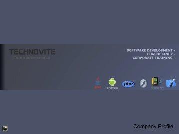 Company Profile - Technovite Lab