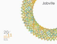 Social Recruiting Survey Results - Jobvite