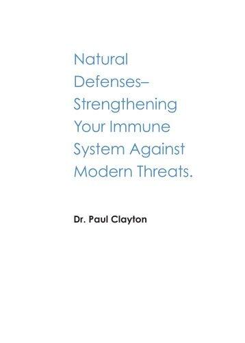Natural Defenses– Strengthening Your Immune System Against ...