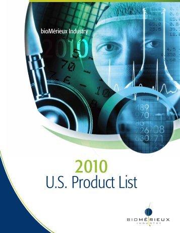 U.S. Product List - bioMerieux