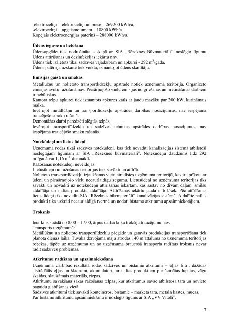 B kategorijas atļauja Nr. RET-19-96 - Vides pārraudzības valsts birojs