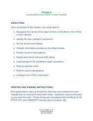 Chapter 6 Introduction to the VITEK 2 User Interface ... - bioMerieux