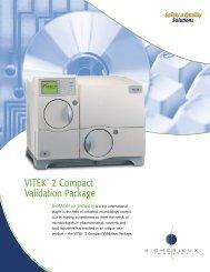 VITEK ® 2 Compact Validation Package - bioMerieux