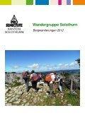 2012 Bergwanderung SO - Pro Senectute Kanton Solothurn - Page 2