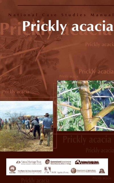 Section 1: Prickly acacia—ecology and threat - Weeds Australia
