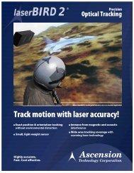 laserBIRD 2® Precision Optical Tracking - 5Dt.com