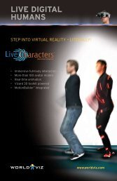 LIVE DIGITAL HUMANS - EST Engineering Systems Technologies