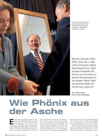 Wie Phönix aus der Asche - rowi press