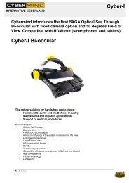 Cyber-I Cyber-I Bi-occular - EST Engineering Systems Technologies