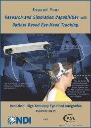 Eye Head Integration - Eyetracker