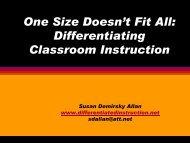 Academic: Work Ethic - Differentiated instruction, curriculum ...