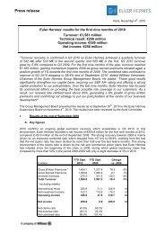 Q3 - Press release - Euler Hermes