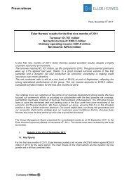 Press release - Euler Hermes