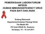 Pemeriksaan HIV pada bayi dan anak - MKDU PPDS Unair Juli ...