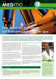 MEDITIO Aug 2008 - Medizinische Universität Graz