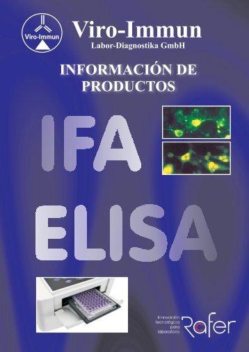Catálogo de productos Viro-Immun
