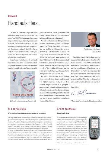Hand aufs Herz... - Trillium GmbH