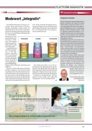 Plattform Diagnostik - Trillium GmbH