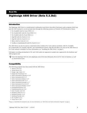 DIGIDESIGN ASIO WINDOWS 8 X64 DRIVER DOWNLOAD