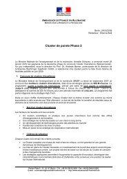 Note sur Cluster de pointe phase 2 - Portail pour la Science de l ...