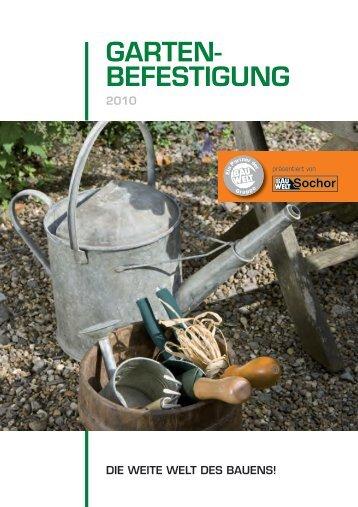Katalog Garten Befestigung - Sochor
