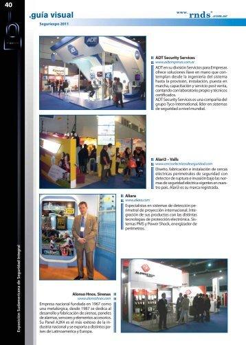 Leer Nota (Formato .PDF) - Revista Negocios de Seguridad