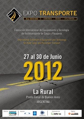 Brochure PDF - Expo Transporte
