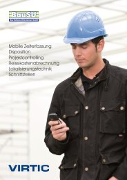 Mobile Zeiterfassung Disposition Projektcontrolling - Bau-Software ...
